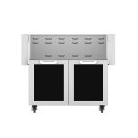 "Hestan36"" Hestan Outdoor Tower Cart with Double Doors - GCD Series - Stealth"