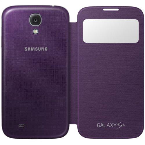 Galaxy S 4 S-View Flip Cover, Purple