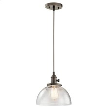 Avery Collection 1 Light Avery Mini Pendant OZ
