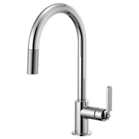 Pull-down Faucet With Arc Spout and Industrial Handle