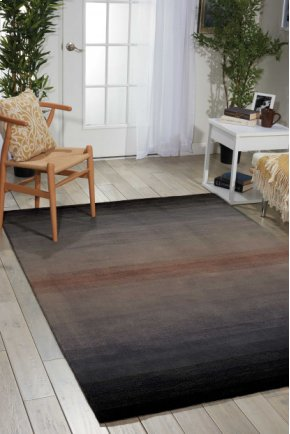 CONTOUR CON08 GRY RECTANGLE RUG 3'6'' x 5'6''