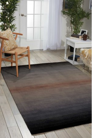 Contour Con08 Gry Rectangle Rug 5' X 7'6''