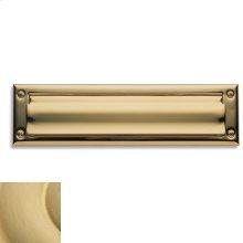 Satin Brass Letter Box Plates
