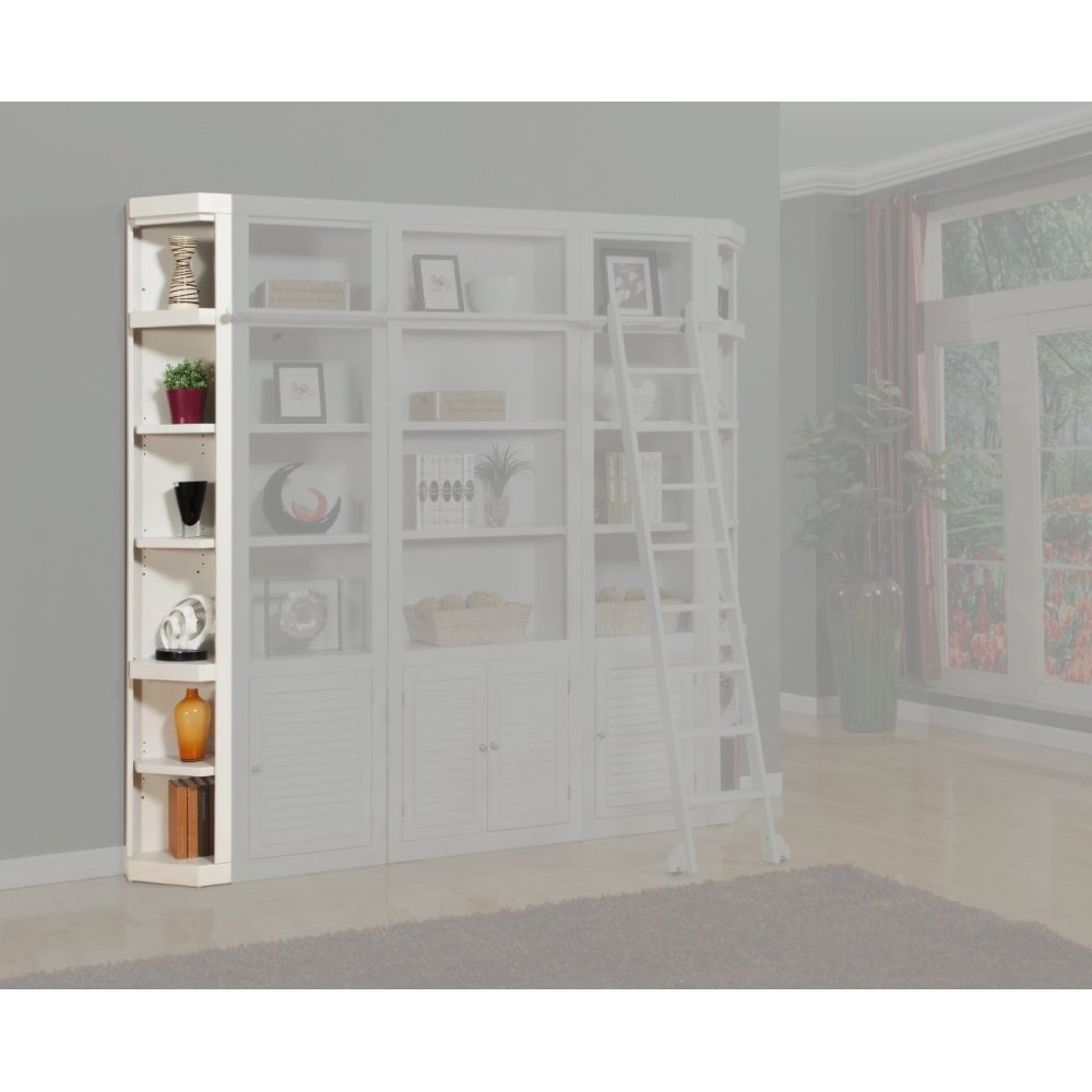 Boca Outside Corner Bookcase