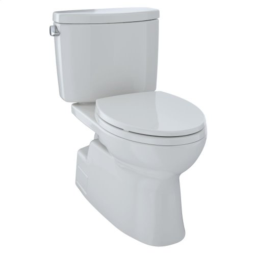 Vespin® II Two-Piece Toilet, Elongated Bowl - 1.28 GPF - Colonial White