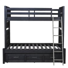 Graphite Bunk Bed Ends Twin