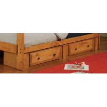 Wrangle Hill Amber Wash Underbed Storage