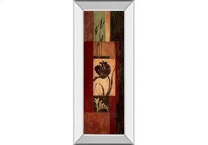 Tulip Shadow By Maria Donovan (mirrored Frame)