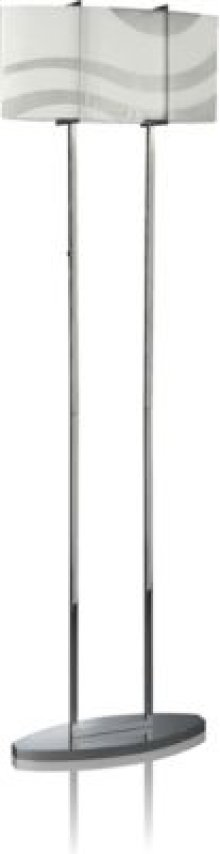 Philips Roomstylers Floor lamp 37503/11/48 E26 chrome