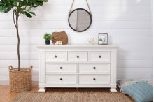 Classic 7-Drawer Double Wide Dresser