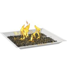 """24"""" Square Patioflame Burner Kit , Stainless Steel , Propane"""