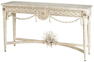 Devereux Console Table - 34h x 19dia.