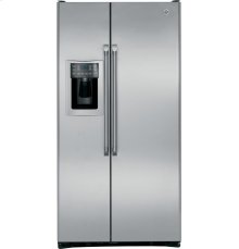 GE Cafe Series 24.6 Cu. Ft. Counter-Depth Side-by-Side Refrigerator