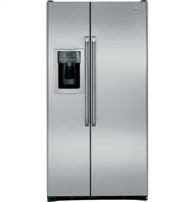 GE Café Series 24.6 Cu. Ft. Counter-Depth Side-by-Side Refrigerator Product Image