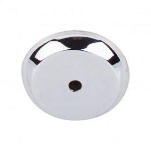 Aspen II Round Backplate 1 1/4 Inch - Polished Chrome