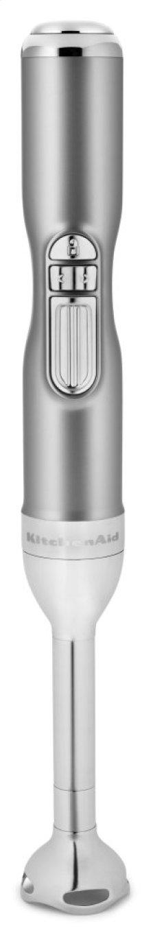 Pro Line® Series 5-Speed Cordless Hand Blender - Sugar Pearl Silver