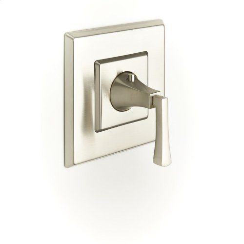 Thermostatic Valve Trim Leyden Series 14 Satin Nickel