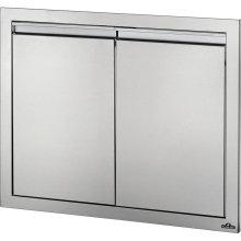 """30"""" X 24"""" Double Door , Stainless Steel"""