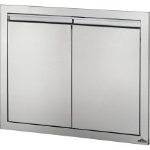"30"" X 24"" Double Door , Stainless Steel"