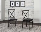 Parx X Back Side Chairs 2pk Product Image