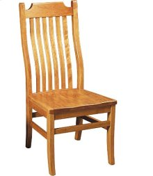 Madison Side Chair w/ Wood Seat