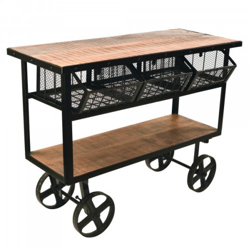 MANGO WOOD CART