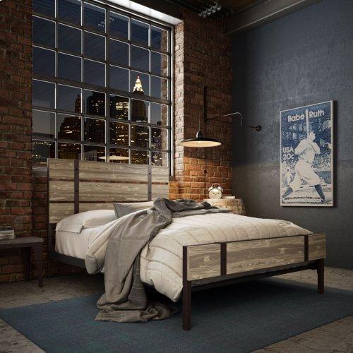 Dover Regular Footboard Bed (larch) - Queen