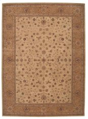 Heritage Hall He01 Beige Rectangle Rug 3'9'' X 5'9''