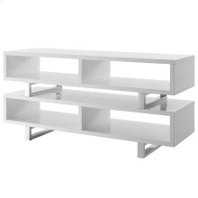 "Amble 47"" White TV Stand in White"