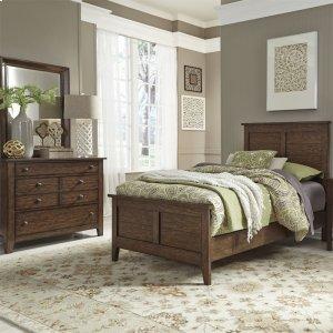 Liberty Furniture Industries Twin Panel Bed, Dresser & Mirror
