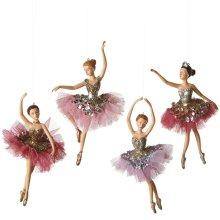 Ballet Ornament (4 asstd).