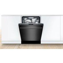 Dishwasher 24'' Black stainless steel