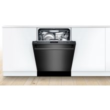 Dishwasher 24'' Black stainless steel