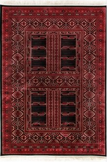 Crown Red/black 16232 Rug
