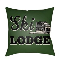 "Lodge Cabin LGCB-2043 22"" x 22"""