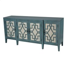 Lawsrence 4-door Cabinet With 3 Adjustable Shelves