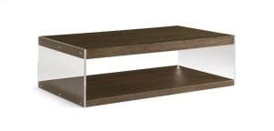 Dalton Coffee Table with Lucite