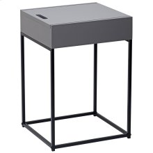 Eryk Accent Table in Grey