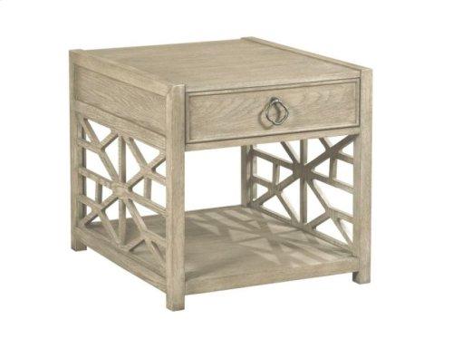 Biscane Drawer End Table