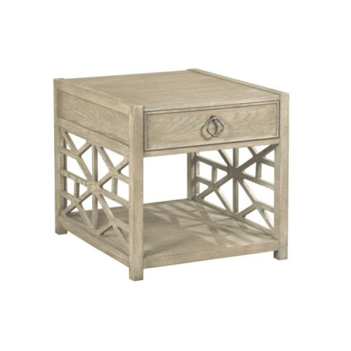 Biscayne Drawer End Table