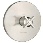 American StandardBerwick Central Therm Valve Trim w/ Cross Handles - Brushed Nickel