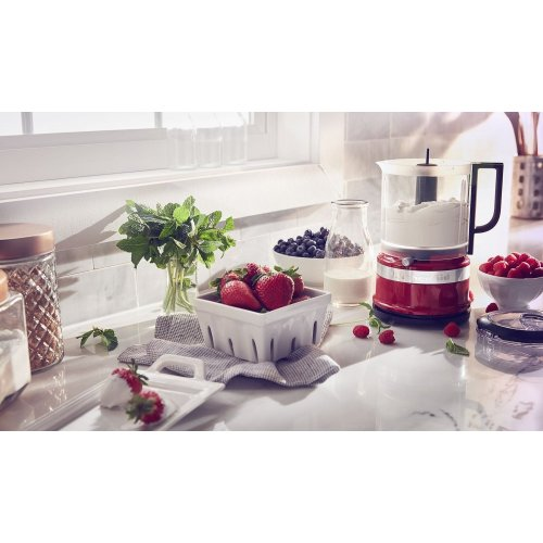 5 Cup Food Chopper - Empire Red