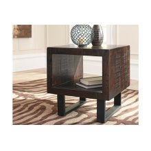 Parlone Rectangular End Table