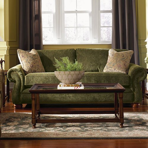 Pembroke Premier Sofa w/ Brass Nail Head Trim