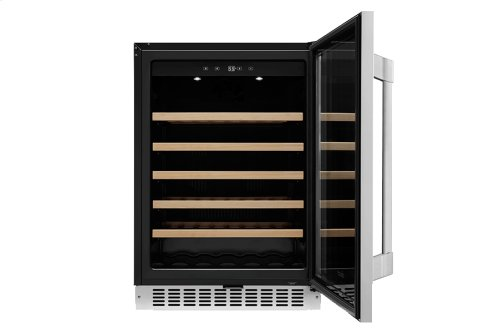 "Heritage 24"" Wine Cellar - Dual Zone with Left Door Hinge"