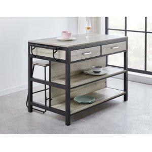 Steve Silver Co.Carson Counter Kitchen Table 55'' x 27.5'' xH36''