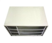 Thru-the-Wall Air Conditioner Wall Sleeve with Stamped Aluminum Grille