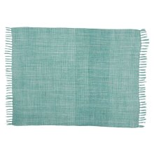 Outdoor Throws Ih018 Aqua 50 X 60 Throw Blanket