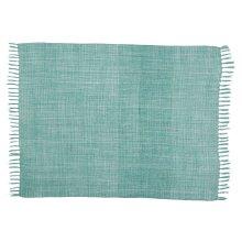 Outdoor Throws Ih018 Aqua 50 X 60 Throw Blanket