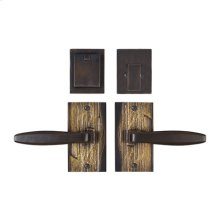 Solid Bronze Amalfi Lever Deadbolt Entry Set